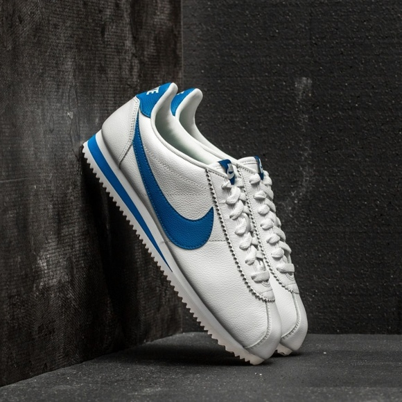e1027dd94e2e12 NEW Nike Classic Cortez Leather SE BlueJay (Rare)